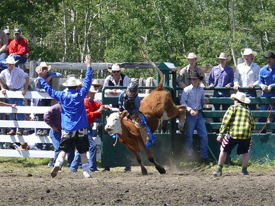 Boys Steer Riding Section 1