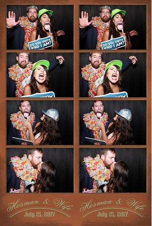Hosman & Wife Wedding (7-15-17)