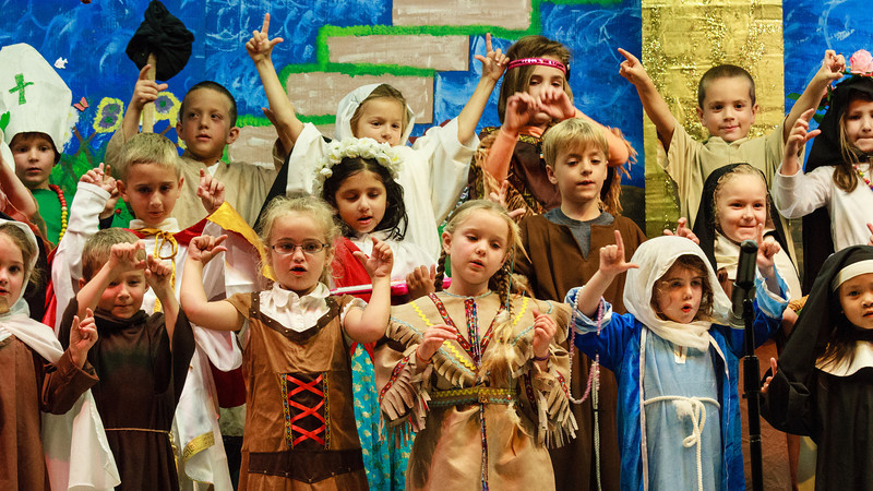 All Saints Day Play 2013