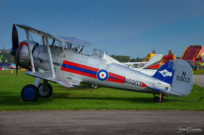 N5903, Gloster Gladiator