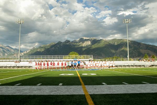 JD vs Viewmont Girls Varsity Soccer