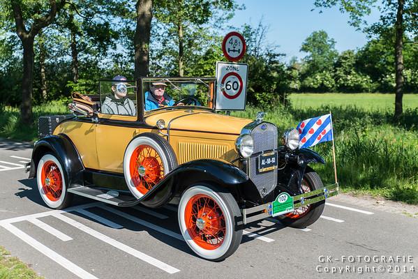 29ste Elf Steden Oldtimer Rally 2014