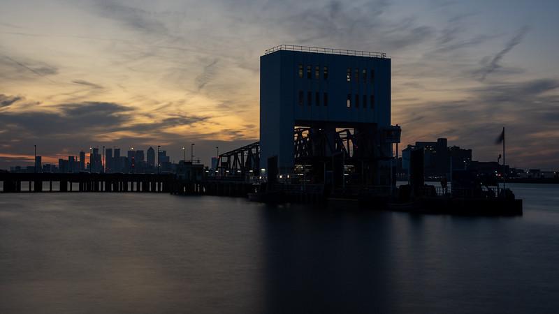 Woolwich Ferry pier