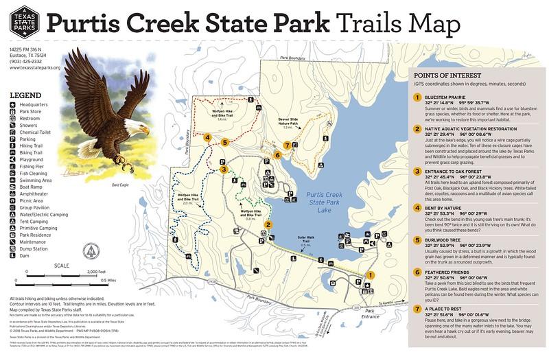 Purtis Creek State Park (Trails)