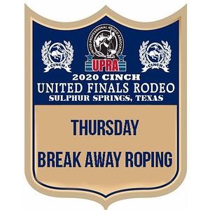 UPRA Finals Thursday Breakaway Roping