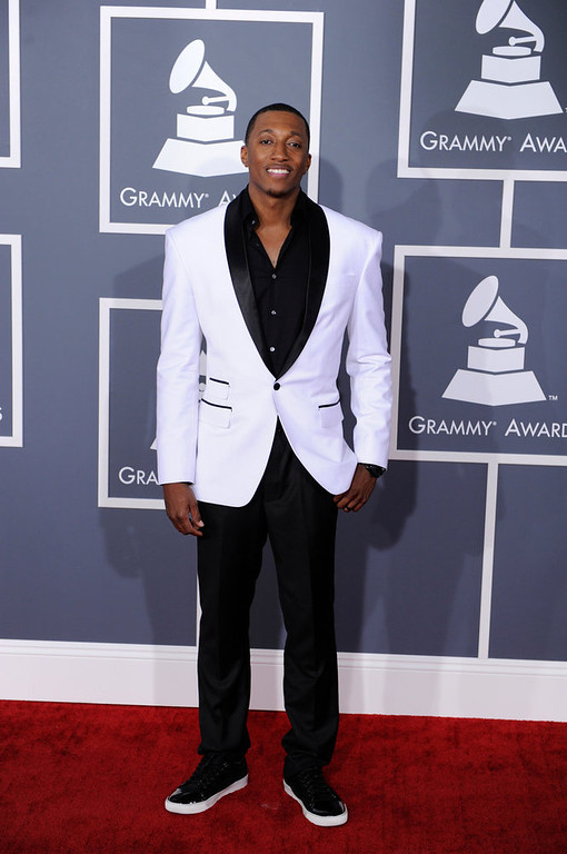 . Lecrae arrives to  the 55th Annual Grammy Awards at Staples Center  in Los Angeles, California on February 10, 2013. ( Michael Owen Baker, staff photographer)
