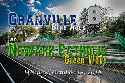 8th Grade Granville at Newark Catholic (10-13-14)