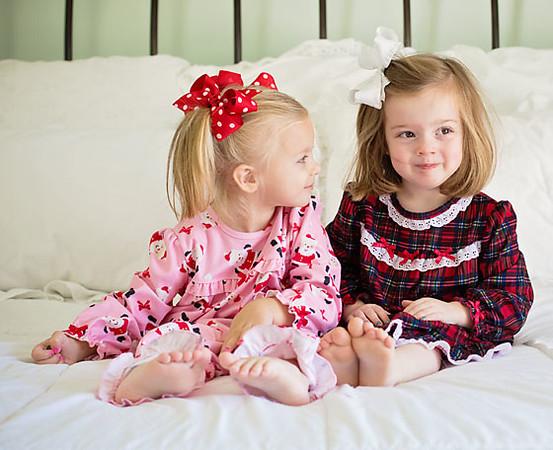 Little Me Christmas PJs