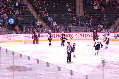 2011 03 10: MN Boys H.S. AA Hockey Tourney, St. Paul, Xcel Ctr