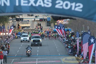 Women at 2.2 Mile Mark - 2012 US Olympic Trials Marathon
