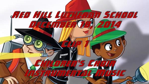2014-12-18 Elementary School Christmas Program