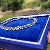 9.50ctw Round Brilliant Diamond Tennis Bracelet 19
