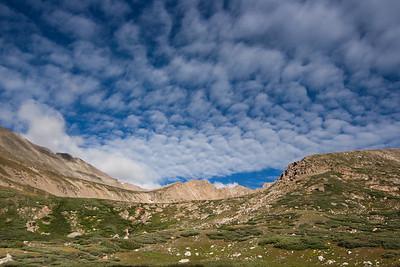 Hiking Mt Democrat, Mt Lincoln, and Mt Bross