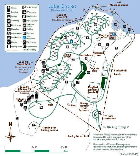 Lincoln Rock State Park (Campground Map)