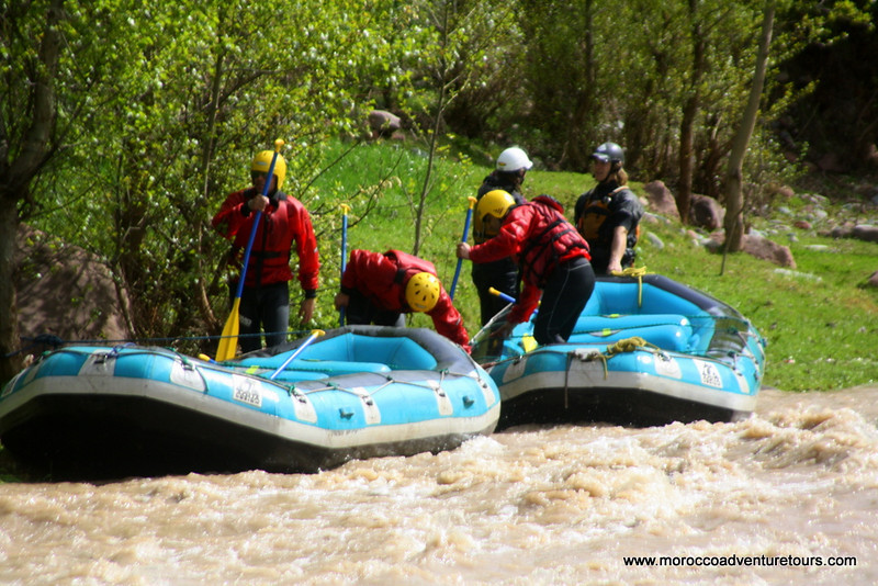 http://moroccoadventuretours.com Morocco adventure activity holiday tour rafting