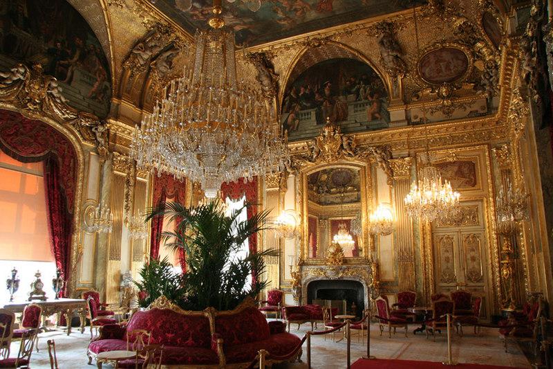 Napoleans Apartments at Musee du Lourve.