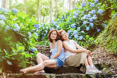 閨蜜寫真/繡球花Hydrangea /旅拍/Taiwan Taitung