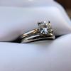 0.78ct Round Brilliant Diamond Bridal Set by Cartier 66