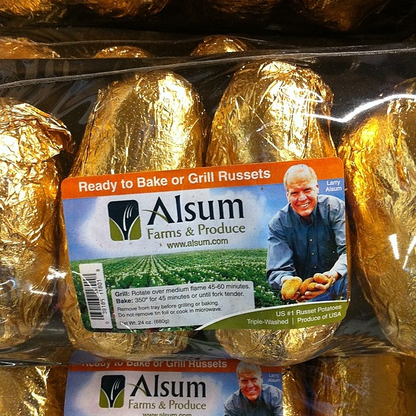 Because...wrapping a potato in foil is just too much work?