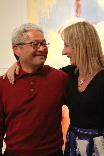 Yoshi Tome and Suzie Buchholz.jpg