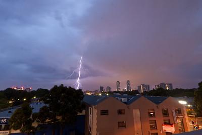 Sydney Lightning Jan 8 2012