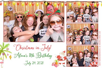 Christmas in July! Alexa's 11th