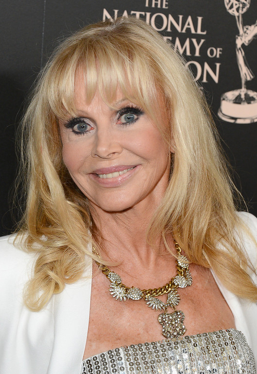 . Actress Britt Ekland attends The 40th Annual Daytime Emmy Awards at The Beverly Hilton Hotel on June 16, 2013 in Beverly Hills, California.  (Photo by Mark Davis/Getty Images)