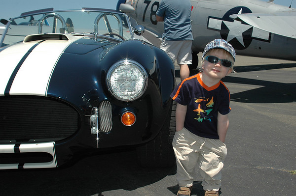Braeden Takes us to the Petaluma Vintage Aircraft and Car Show