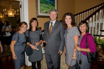 Prime Ministers Award in Ottawa