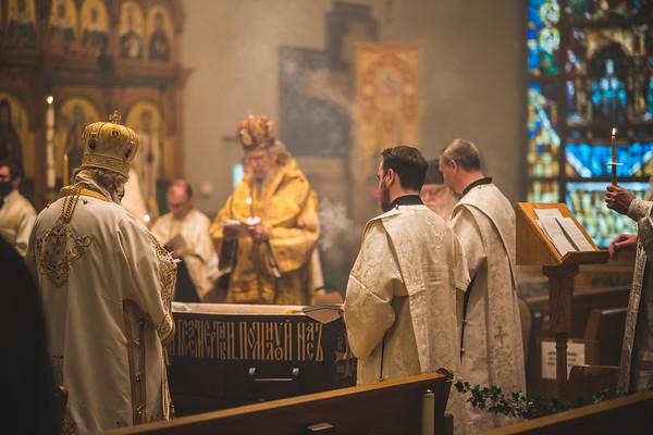 Funeral for Metropolitan Theodosius