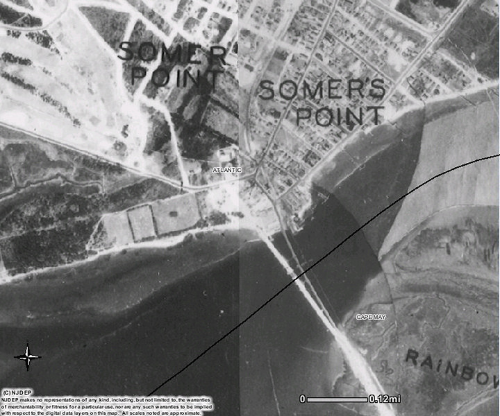 Somers Point circle area 1930.jpg