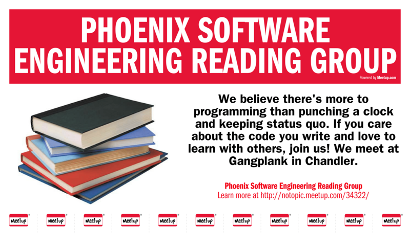 Phoenix Software Engineering Reading Group at Gangplank