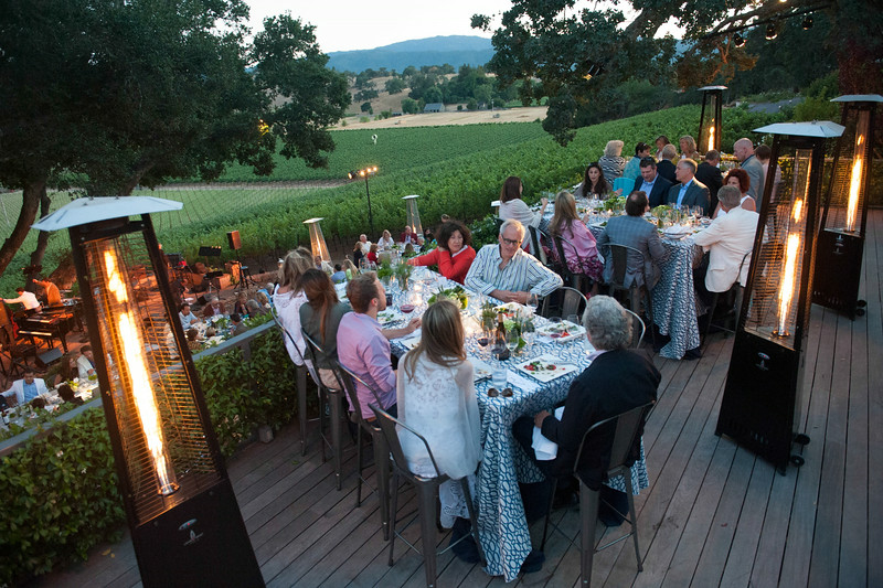 Concert and Patron Dinner at Gargiulo Vineyards