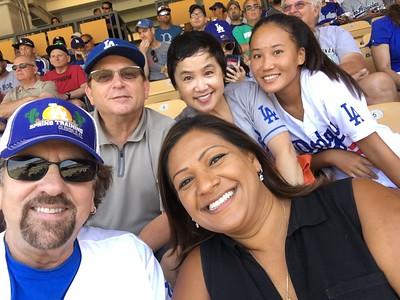 Kim, Tina Dodgers Game