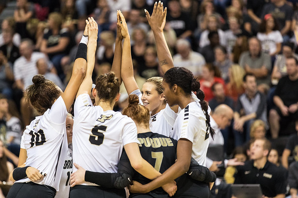 Purdue Volleyball vs Minnesota 2016-10-2