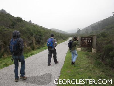 Sweeney Ridge Trail Day Hike