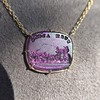 'Push Along' Purple Glass Pendant, by Seal & Scribe 16