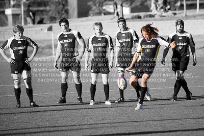 University of Colorado Rugby A Side vs Air Force Academy A Side March 23rd, 2012