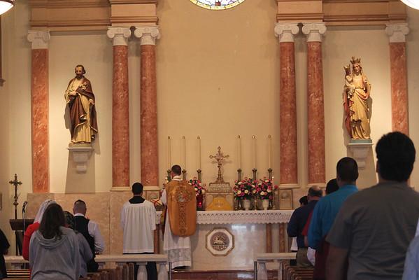 St. Anne Catholic Church, San Diego, CA (FSSP Parish) - July 21, 2013