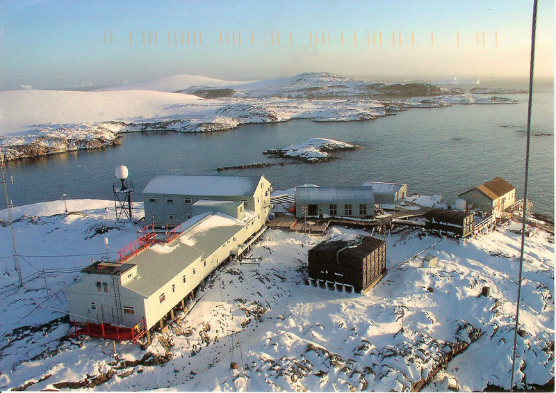 Postcard cover from Akademik Vernadsky Station, Galindez Island 65 15S, 64 16W