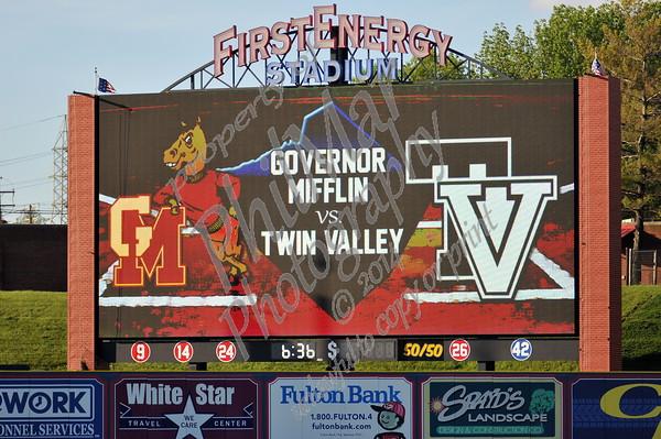 Governor Mifflin vs Twin Valley Baseball Semi-Finals 2016