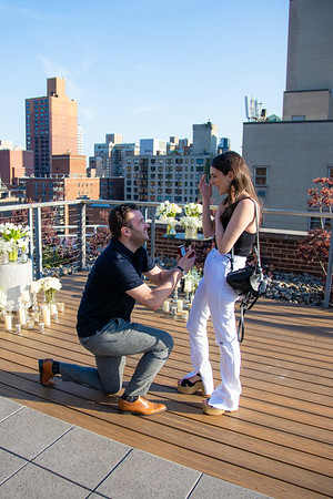 Jessica & Ross NYC proposal