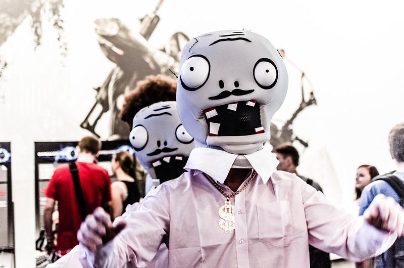 Zombies @ Gamescom 2012