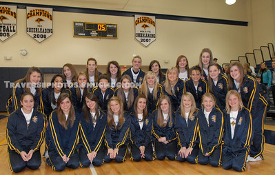 Prestonwood Christian Academy Competition Cheer Leaders – Banner Ceremony