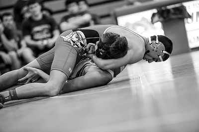 1-16-17 Bluffton Jr/Sr wrestling at Grove