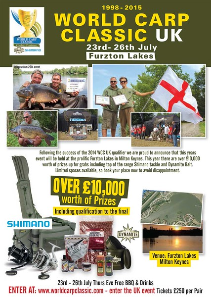 S000062 World Carp Classic 2015 Poster.indd