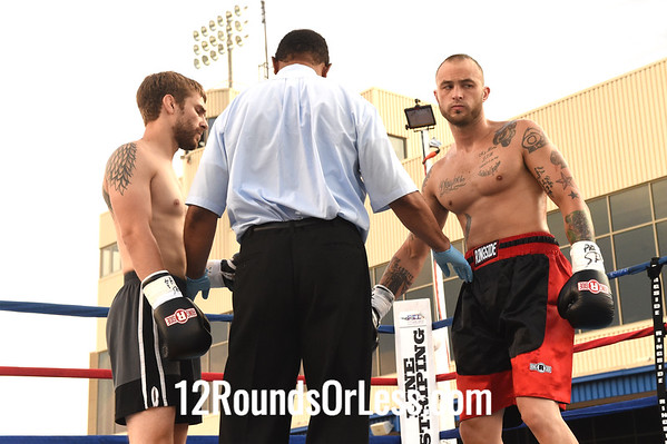 Bout 2 John Heynoske, Erie, PA -vs- Joe Szczublevski, Findley, OH, Lightweights