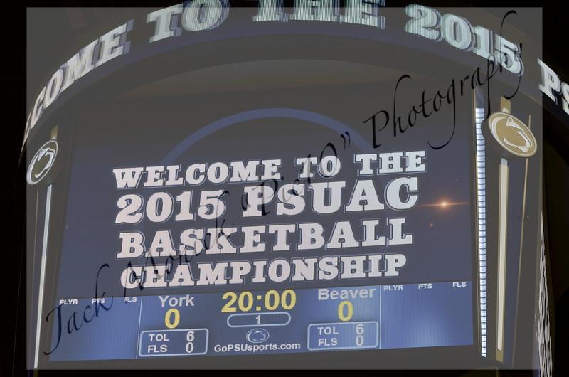 2015 PSUAC Men's Basketball Championships
