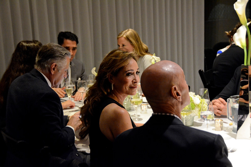 Jennifer Miller AVENUE MAGAZINE Presents an Insider Dinner and Preview of the Late Architect Zaha Hadid's Final Luxury Condo Complex Over the High Line 520 West 28th Street   NYC, USA - 2017.04.27 Credit: Lukas Greyson
