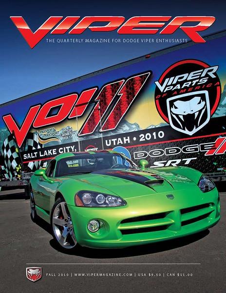 Viper Magazine Fall 2010 cover photo.